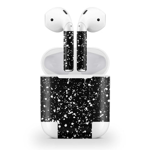Black Speckle Skin AirPods