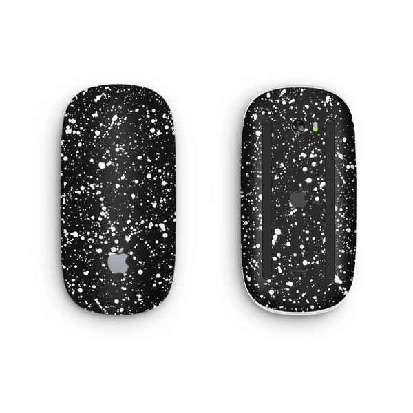 Black Speckle Magic Mouse 2 Skin