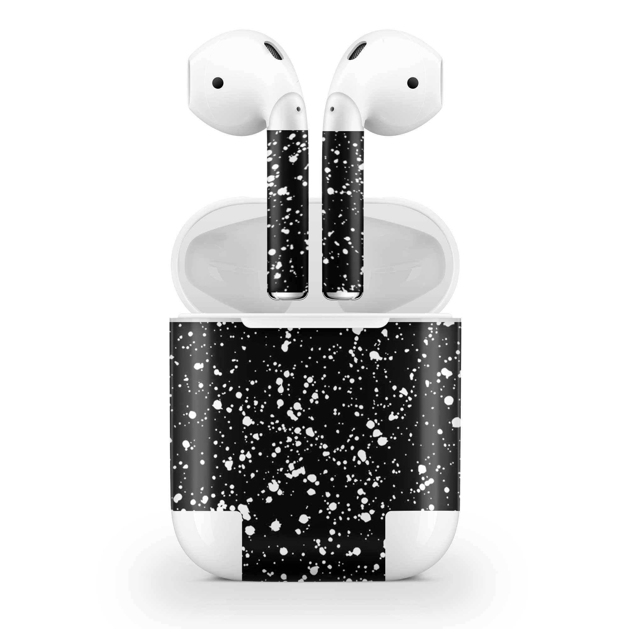 Black Speckle AirPods (No Wireless Charging) Skin