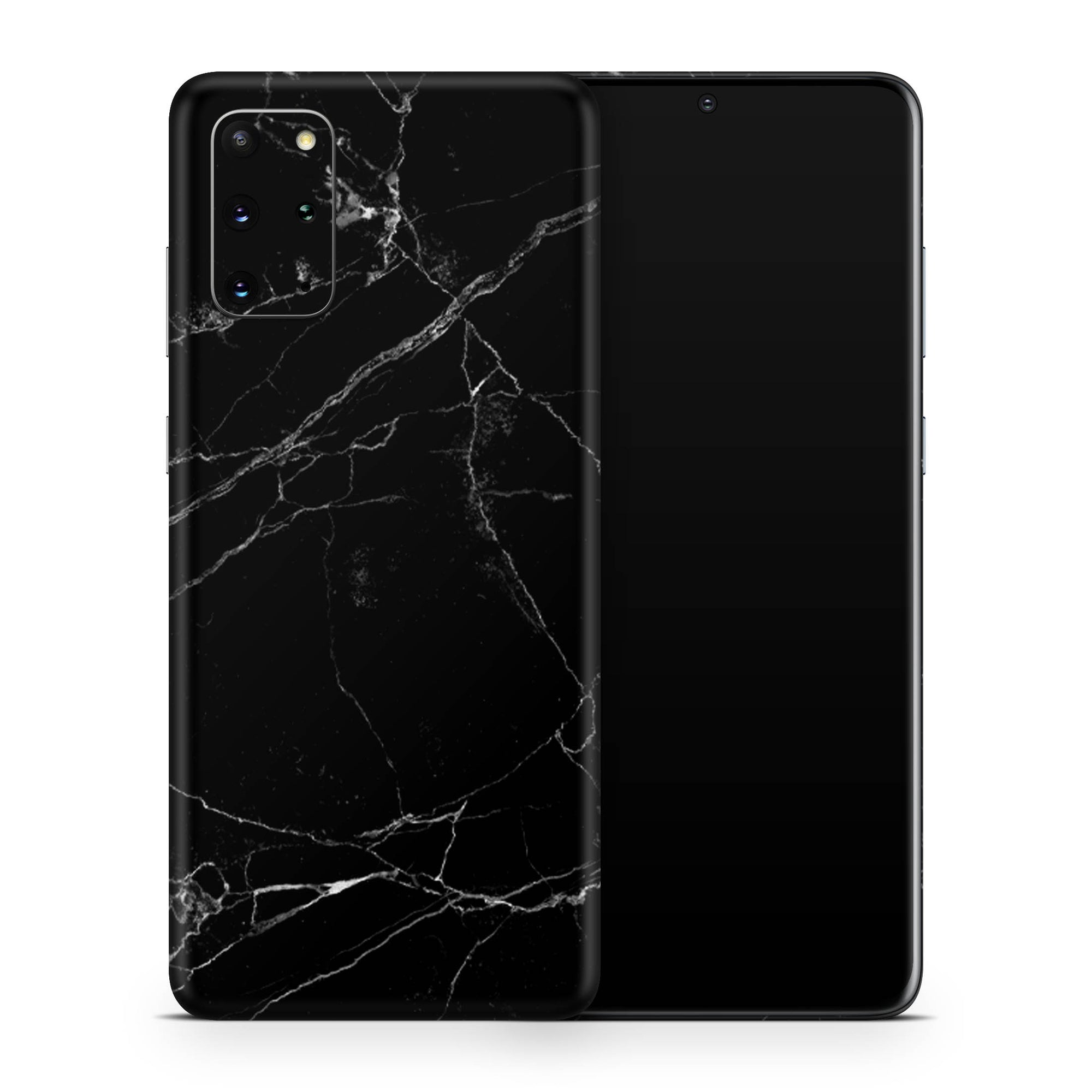 Black Marble Galaxy S20 Ultra Skin + Case-Uniqfind