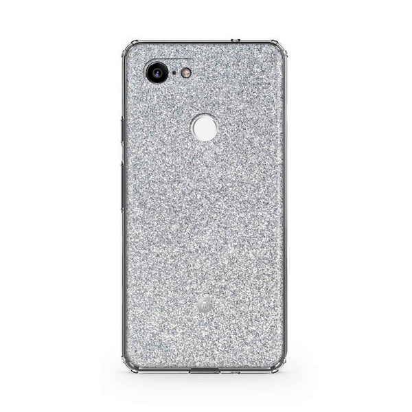 Blanc Glitter Case Google Pixel 3 and 3 XL