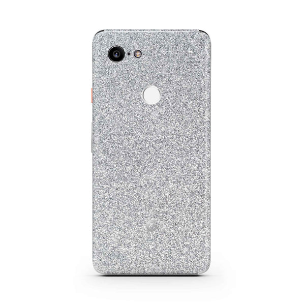 Blanc Glitter Skin Pixel 3 and 3 XL