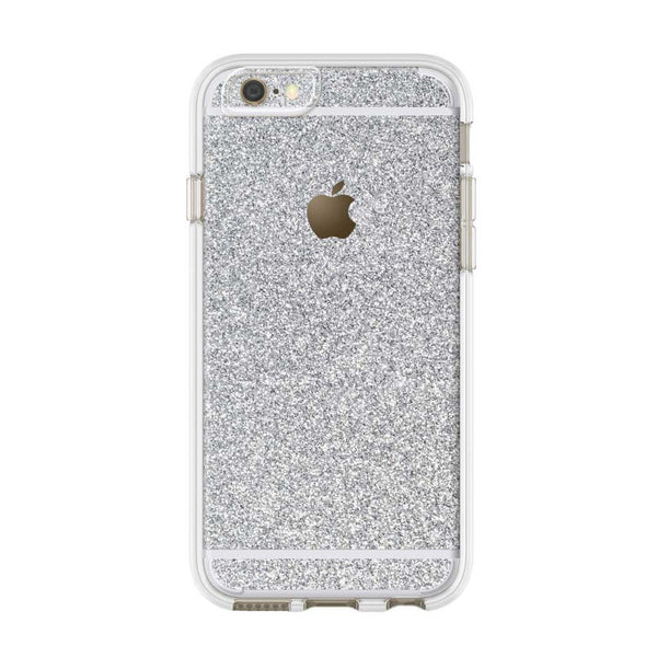 Glitter iPhone Skin in Silver