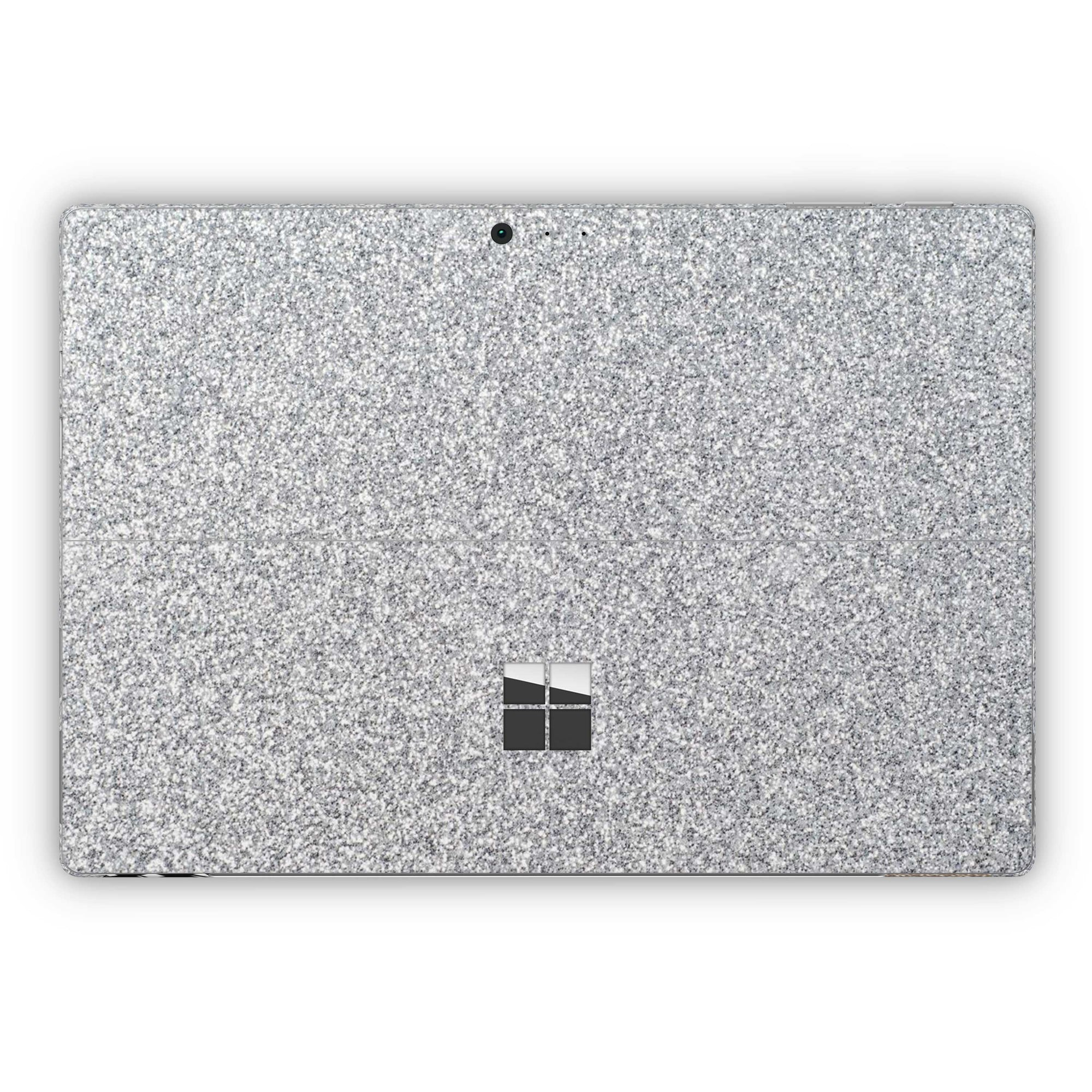 Blanc Glitter Surface Pro 5 and Surface Pro 6 Skin