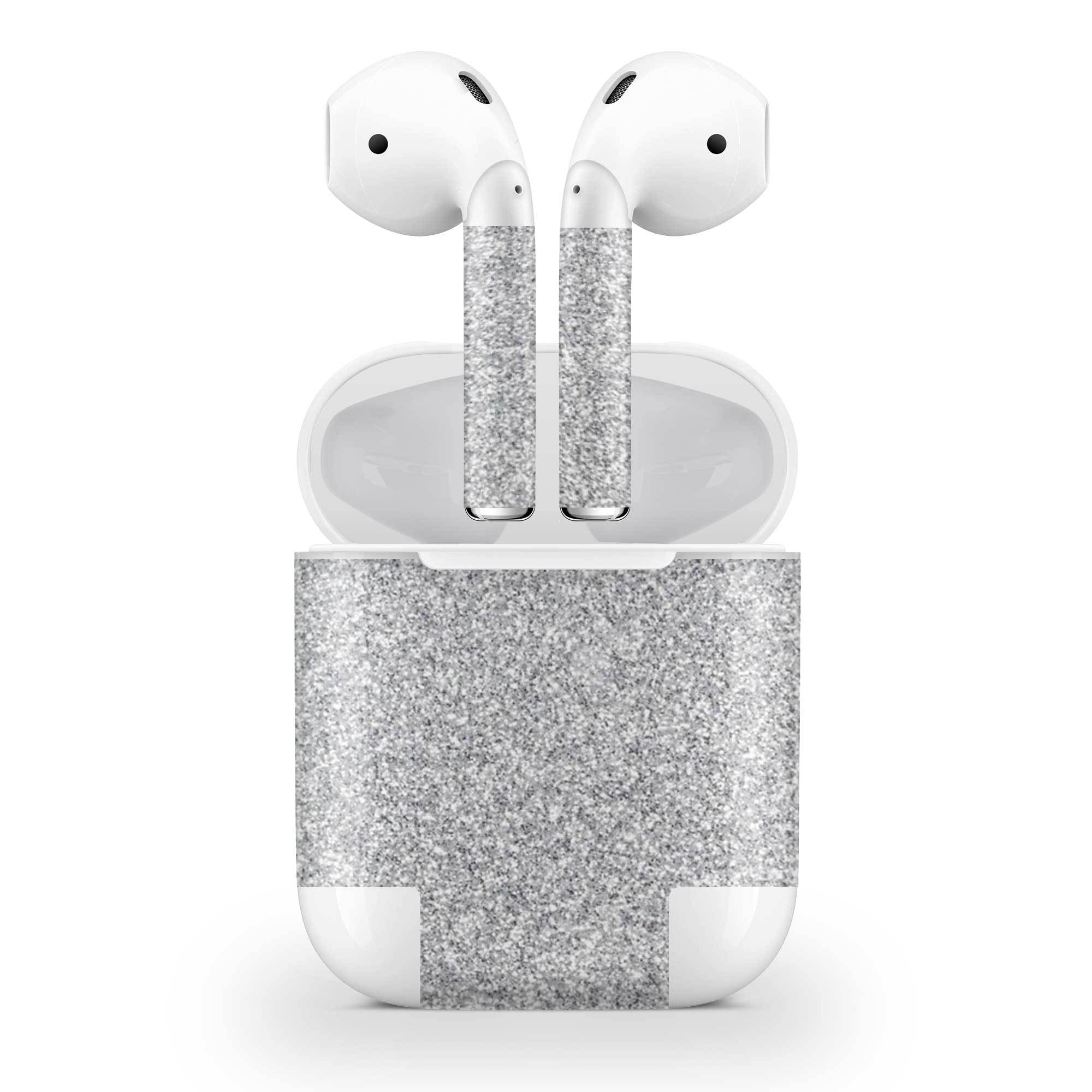 Blanc Glitter AirPods (No Wireless Charging) Skin
