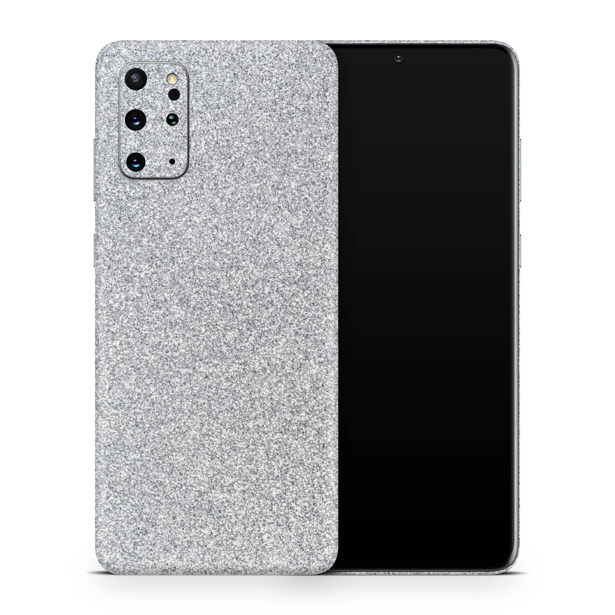 Blanc Glitter Galaxy S20 Ultra Skin + Case-Uniqfind