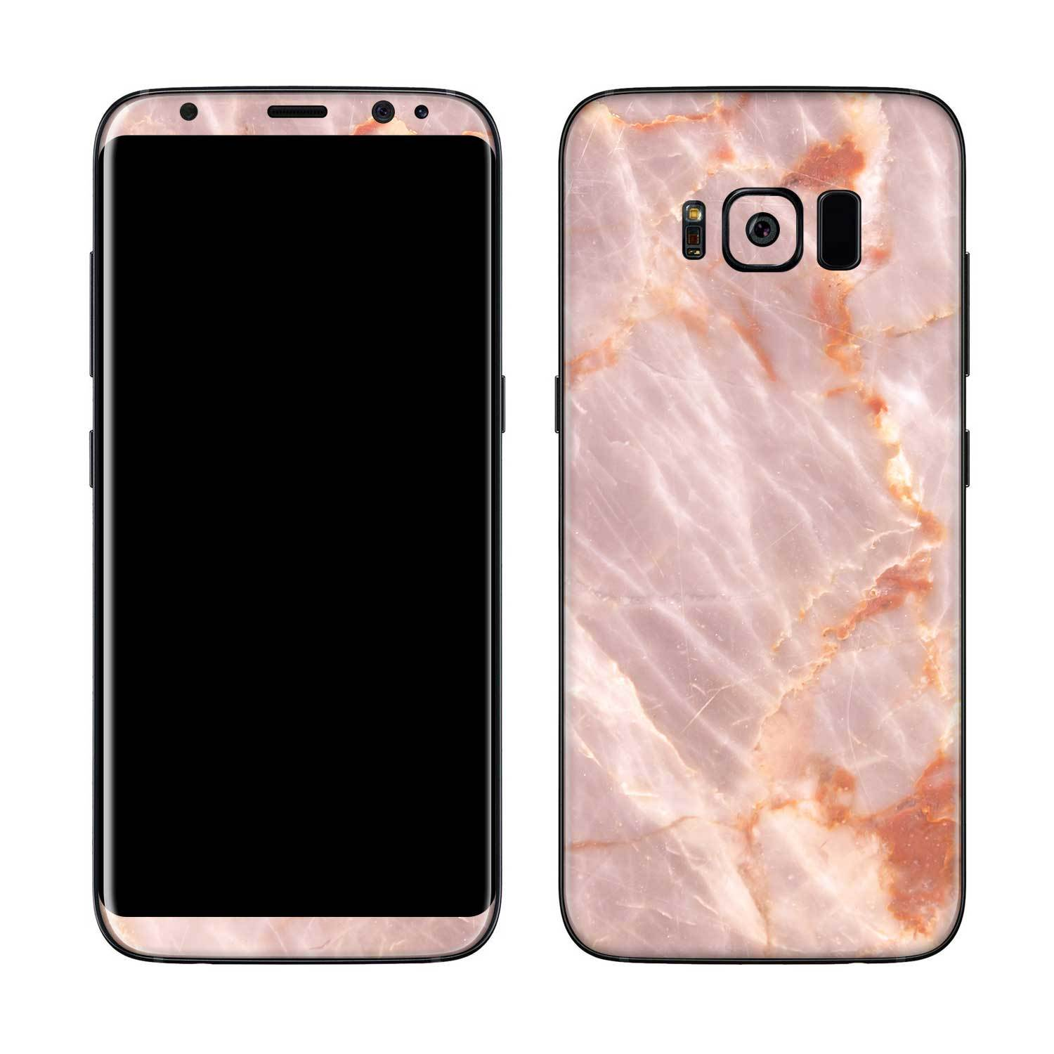 Blush Marble Galaxy S8 Plus Skin + Case