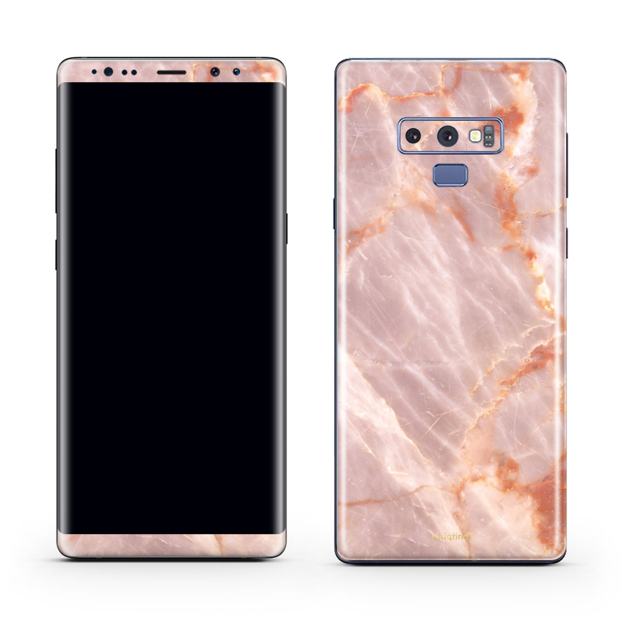 Blush Marble Galaxy Note 9 Skin + Case