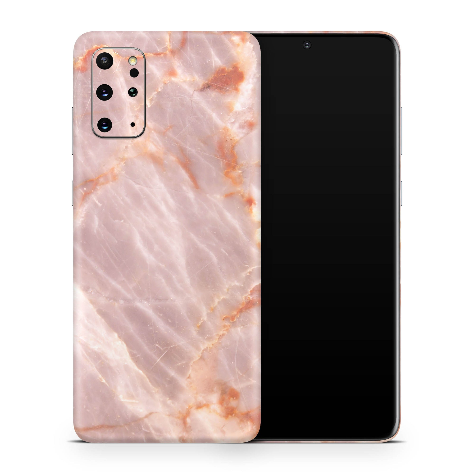 Blush Marble Galaxy S20 Plus Skin + Case-Uniqfind