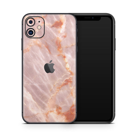 Blush Marble iPhone 11 Skin