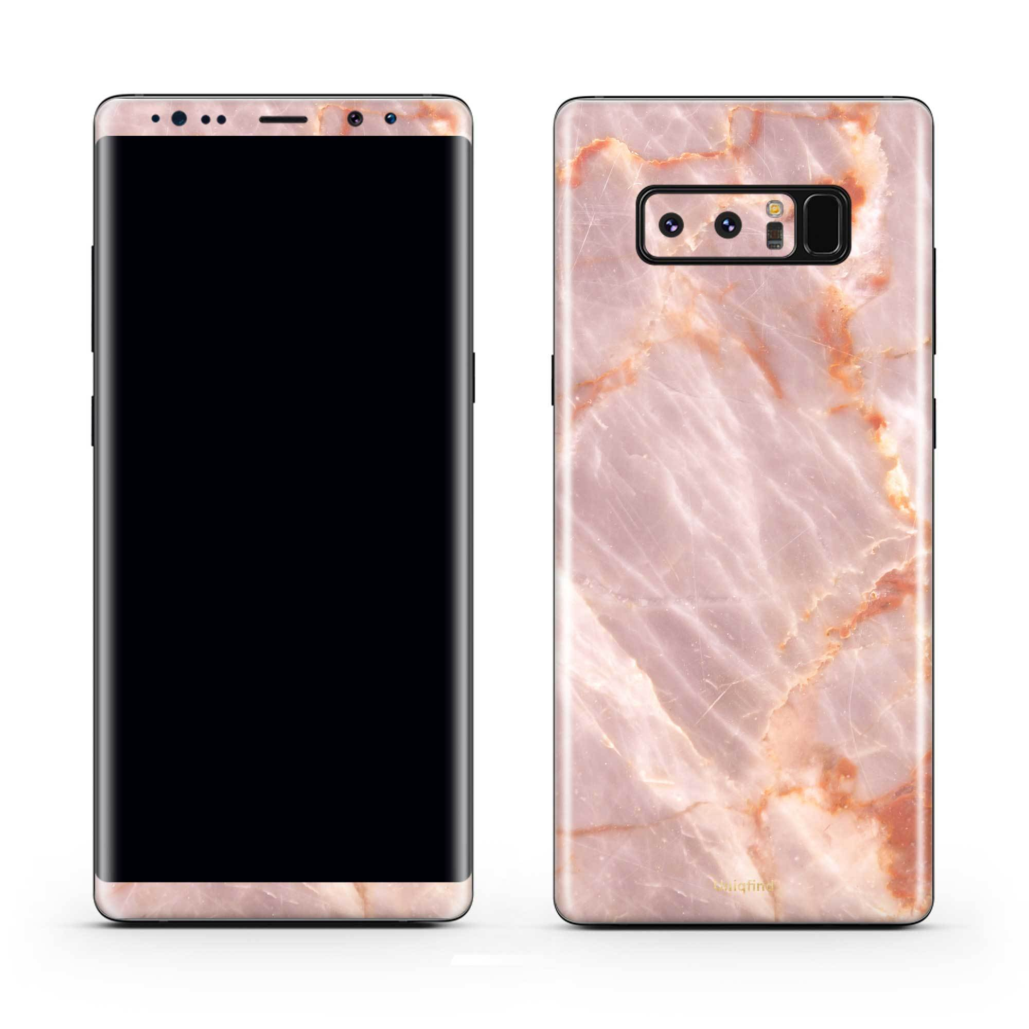 Blush Marble Galaxy Note 8 Skin + Case