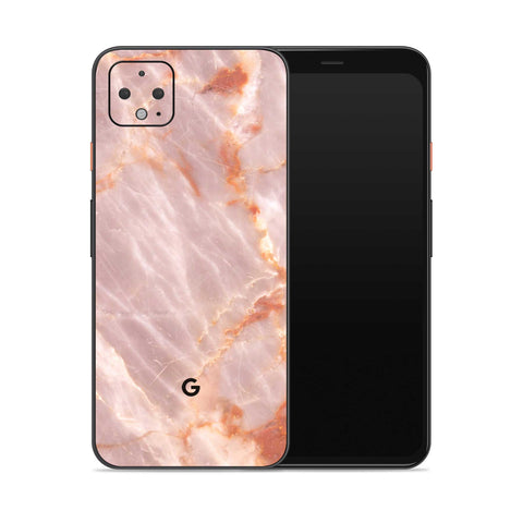 Blush Marble Pixel 4 Decal