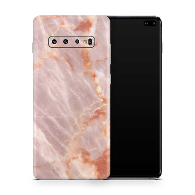 Blush Marble S10 5G Cover