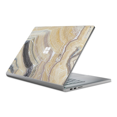Butter Marble Surface Book Cover