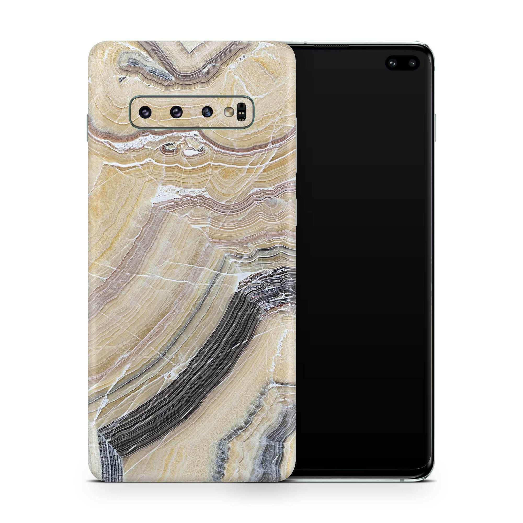 Butter Marble Galaxy S10 and S10 Plus and S10e Skin