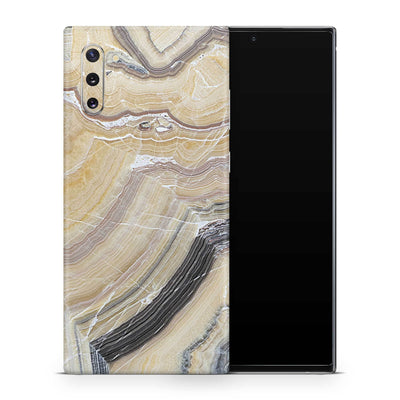 Butter Marble Galaxy Note 10 Skin + Case