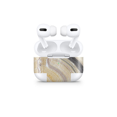 Butter Marble AirPods Pro Cover