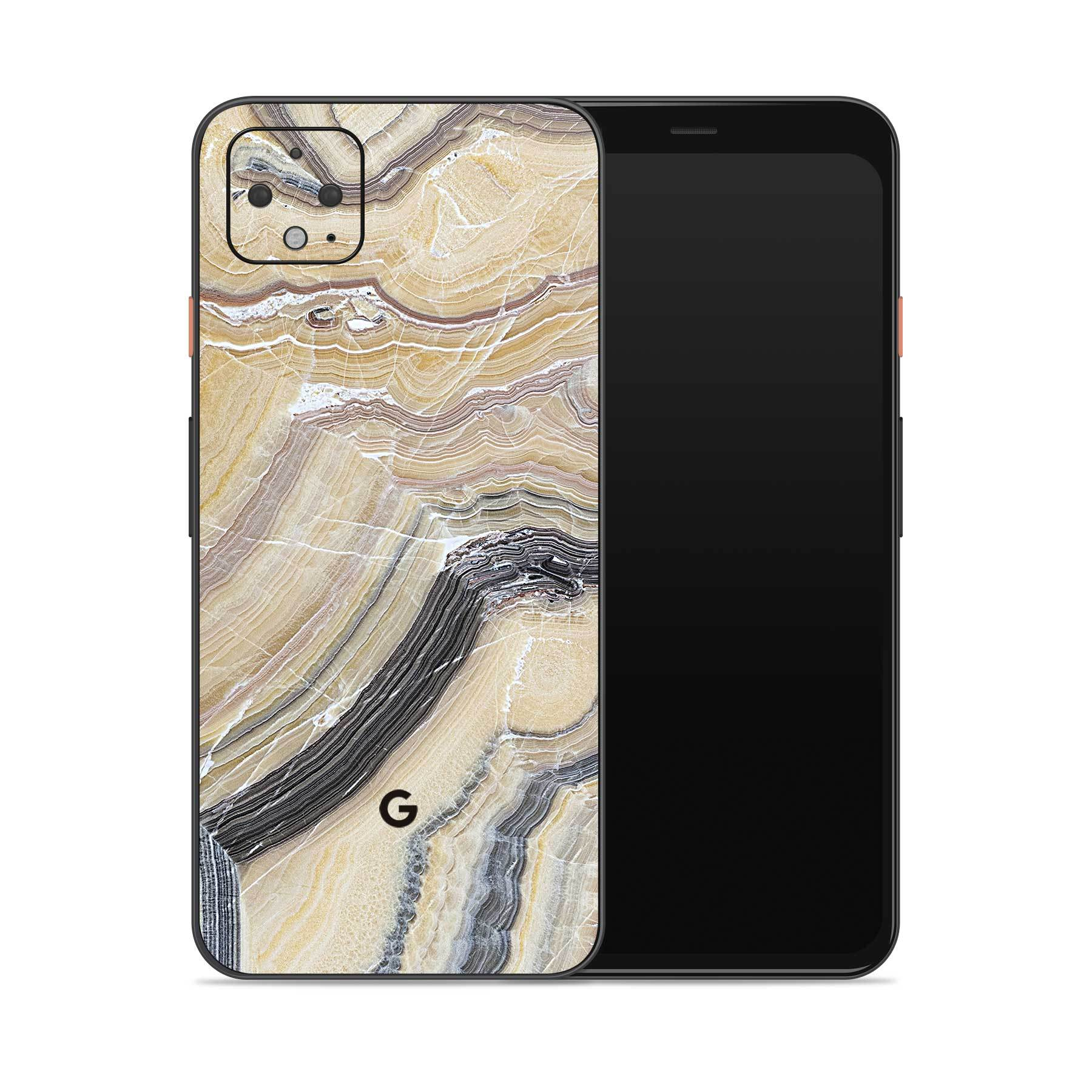 Butter Marble Pixel 4 XL Cover