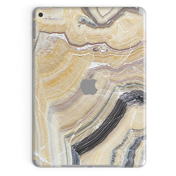 Butter Marble Tablet Decal