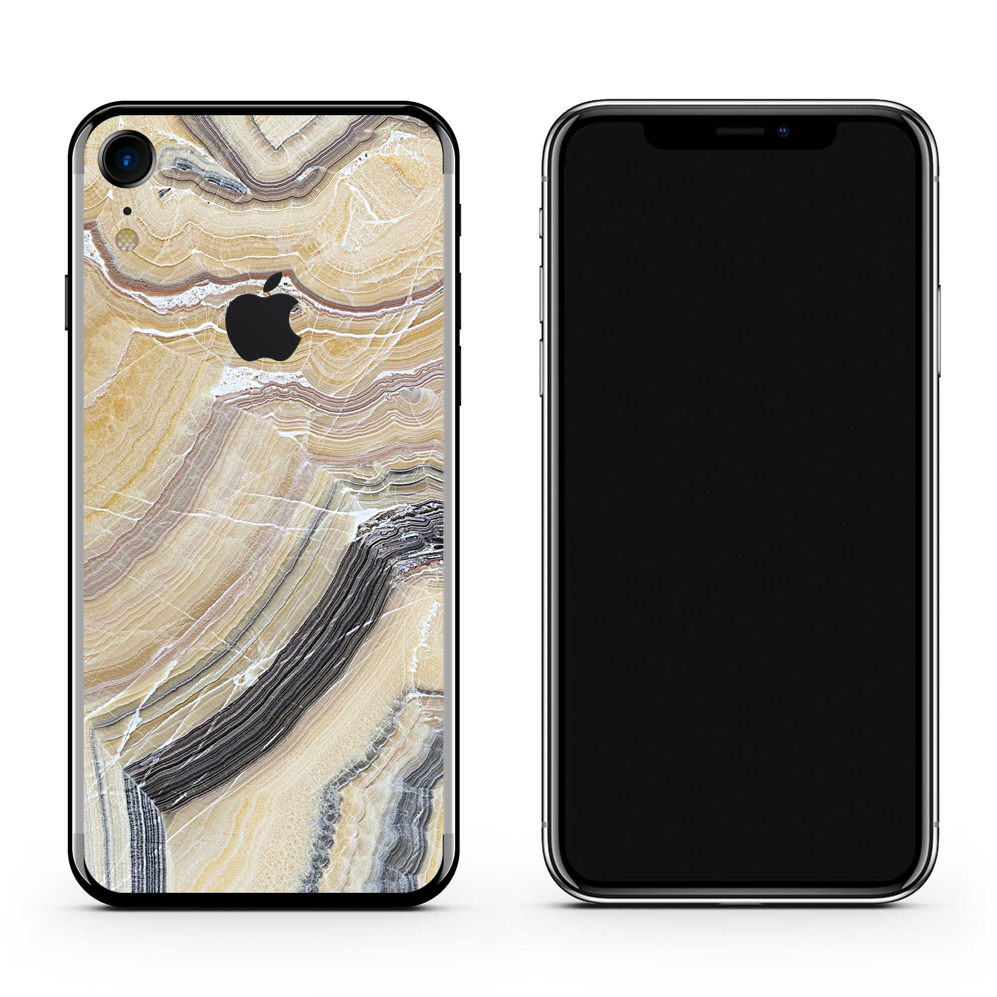 Butter Marble iPhone Wrap