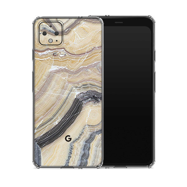 Butter Marble Pixel 4 Case