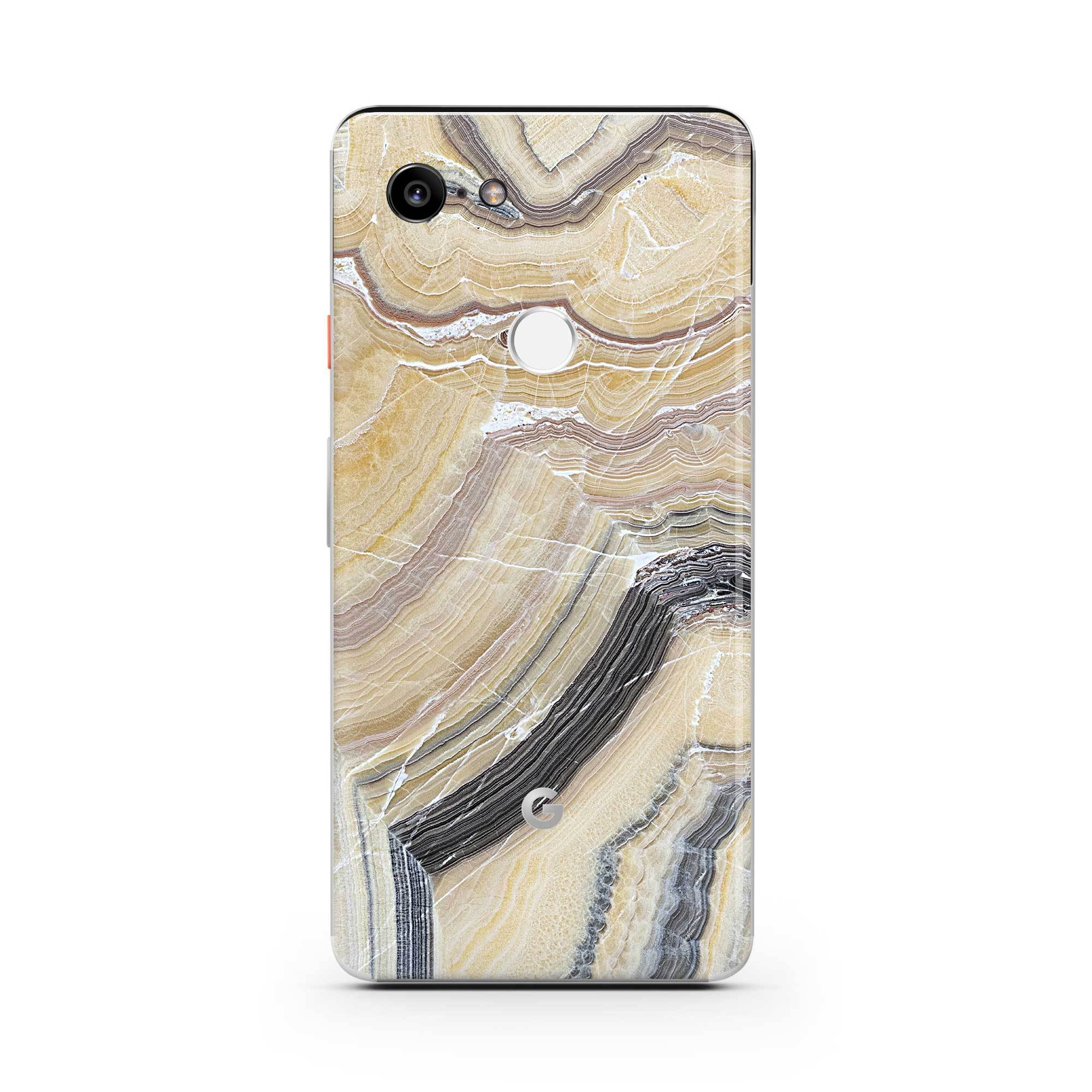 Butter Marble Pixel 3a Skin + Case
