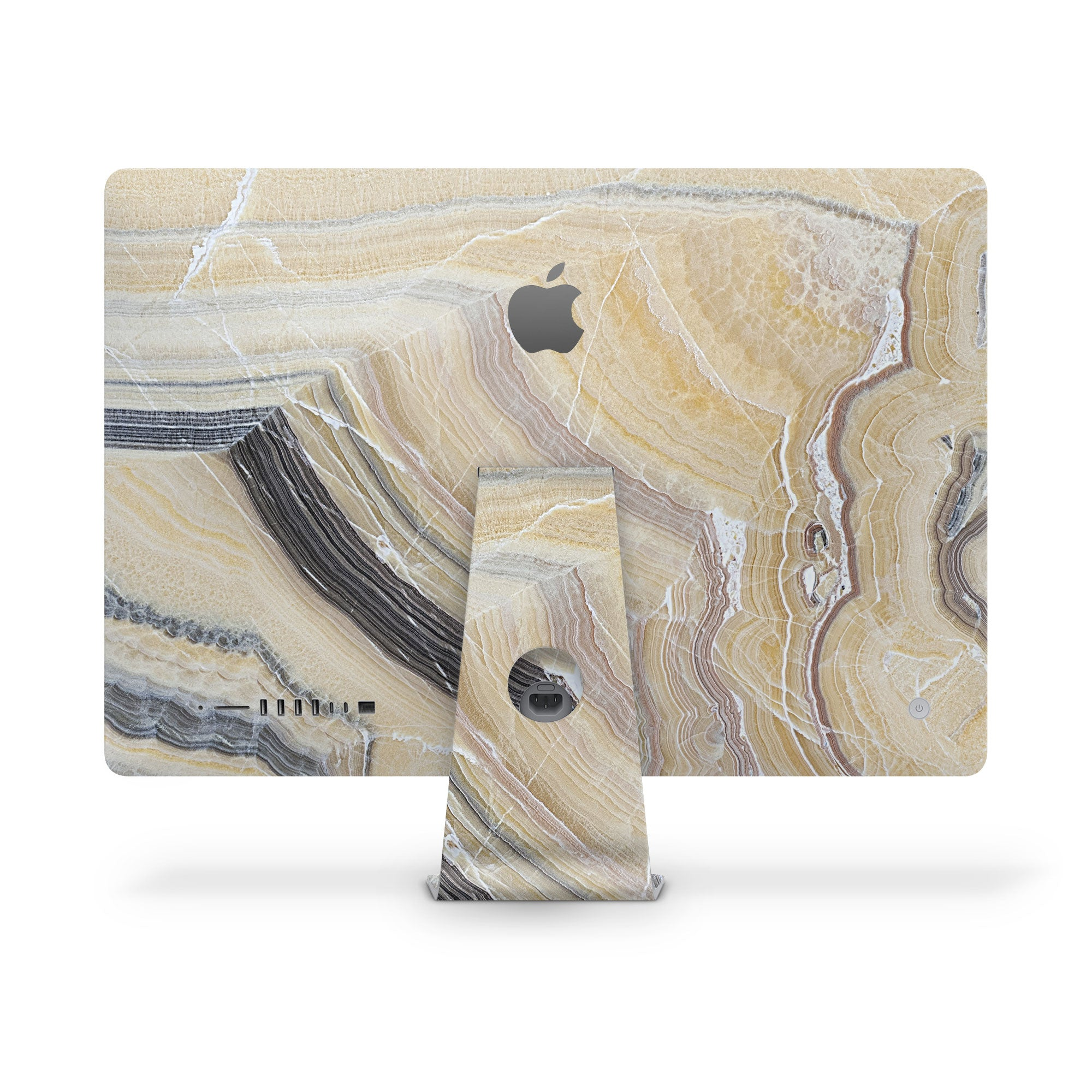 iMac Decal Butter Marble