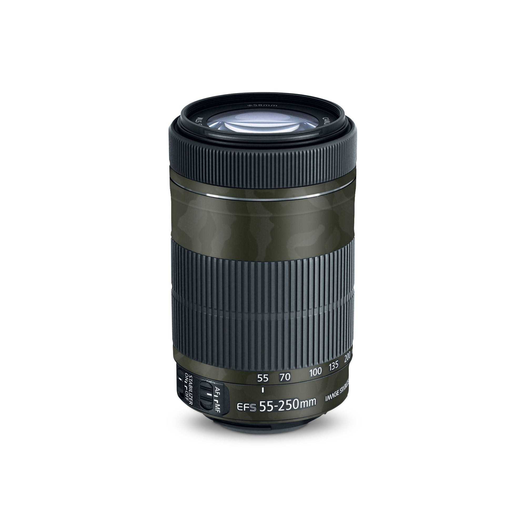 Canon Skin EF 55-250mm Green Camo