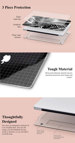 Clear Hard Case for MacBooks