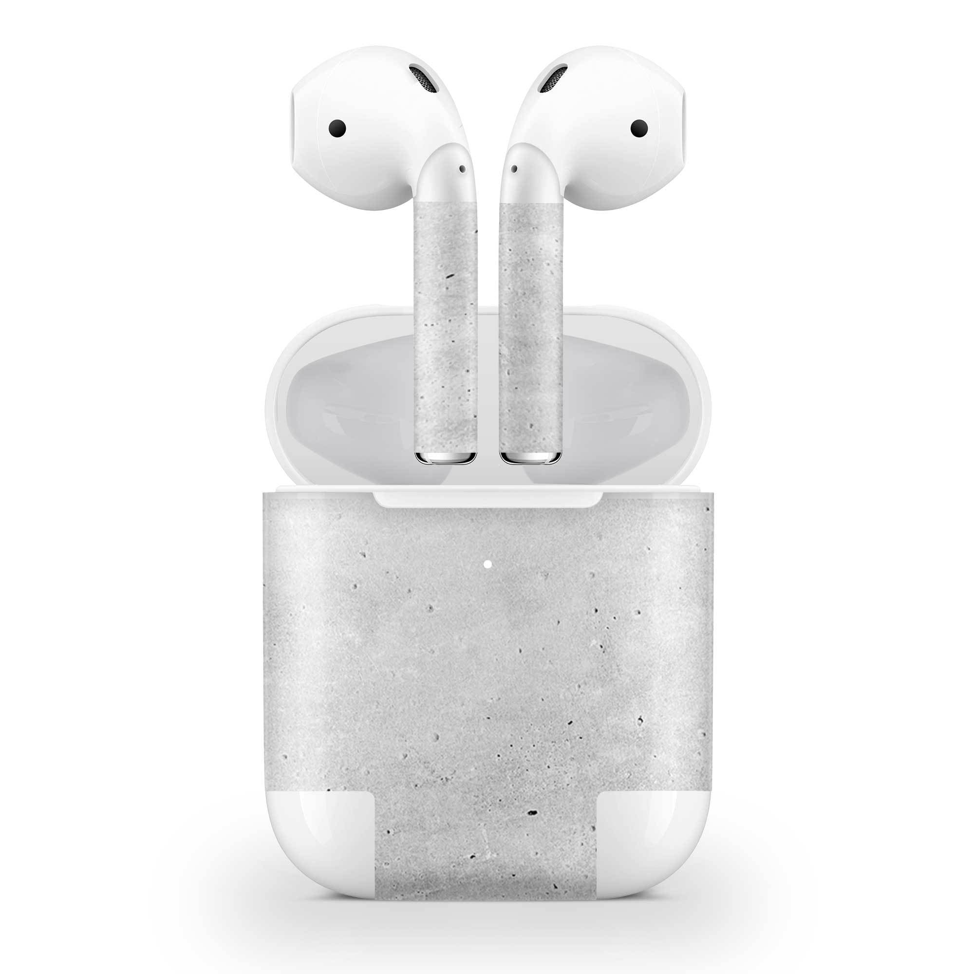 Concrete Skin AirPods Wireless Charging Case