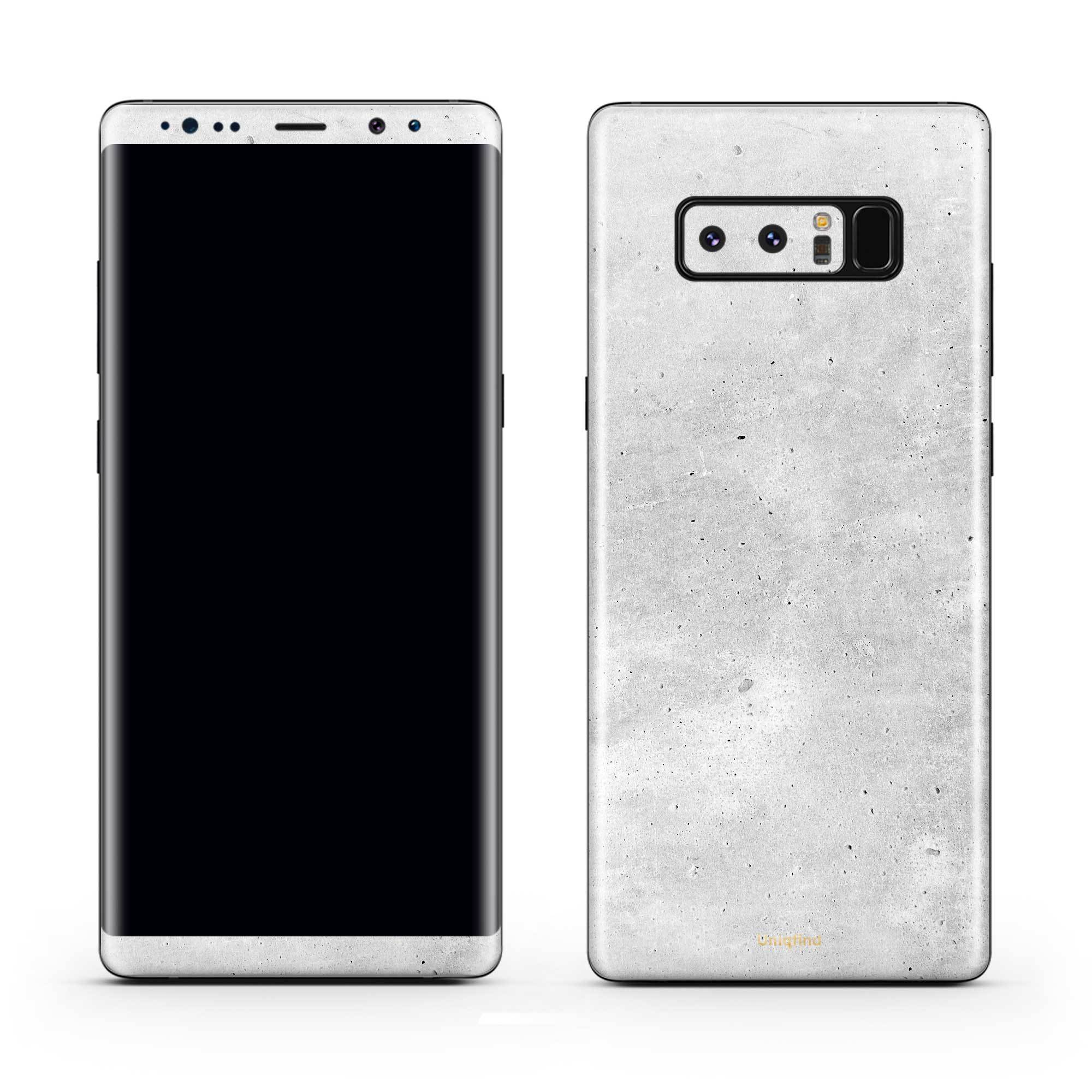 Concrete Galaxy Note 8 Skin + Case
