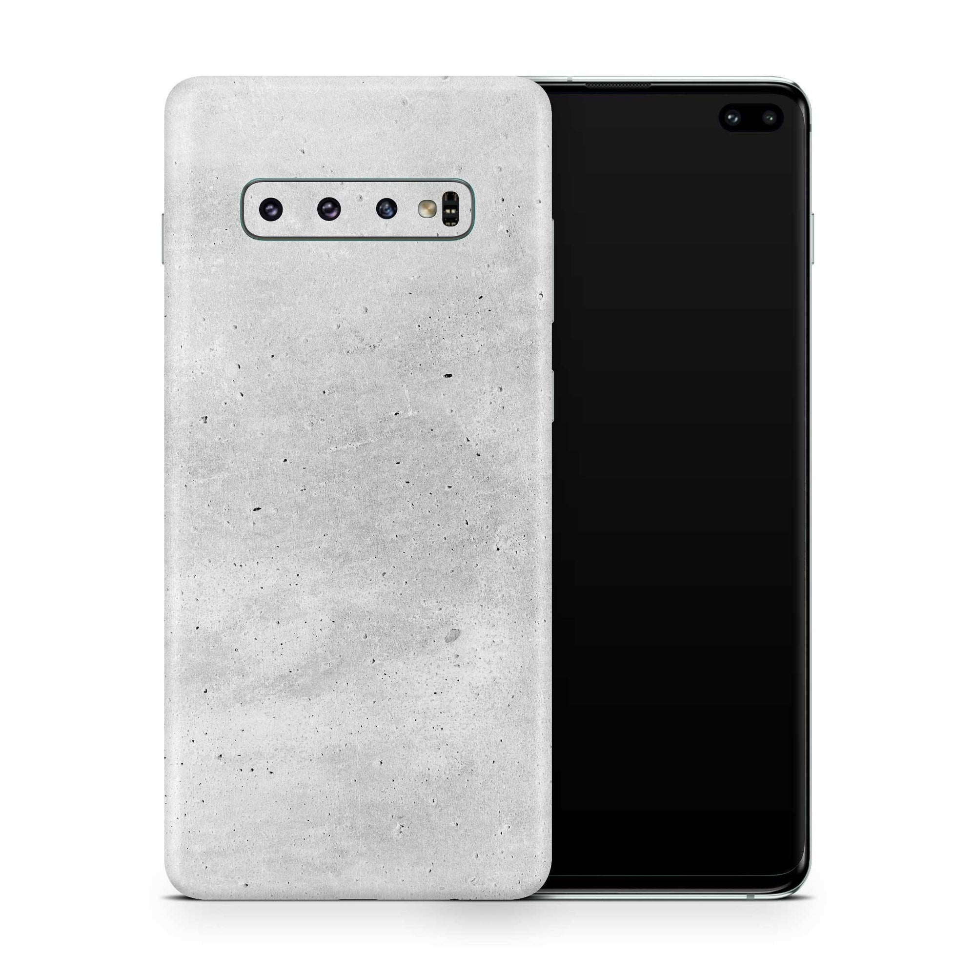 Concrete Galaxy S10e Skin + Case
