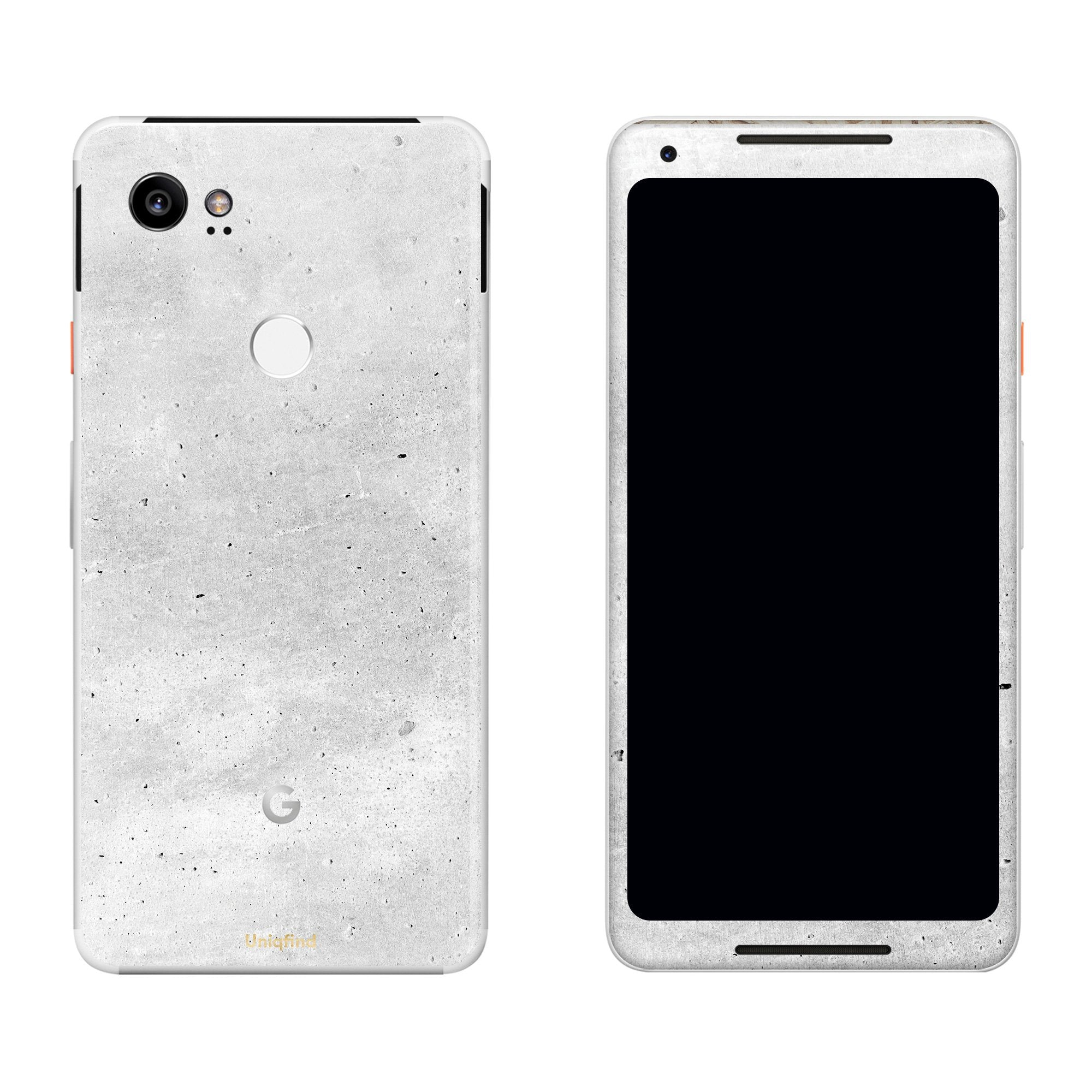 Concrete Pixel 2 XL Skin + Case