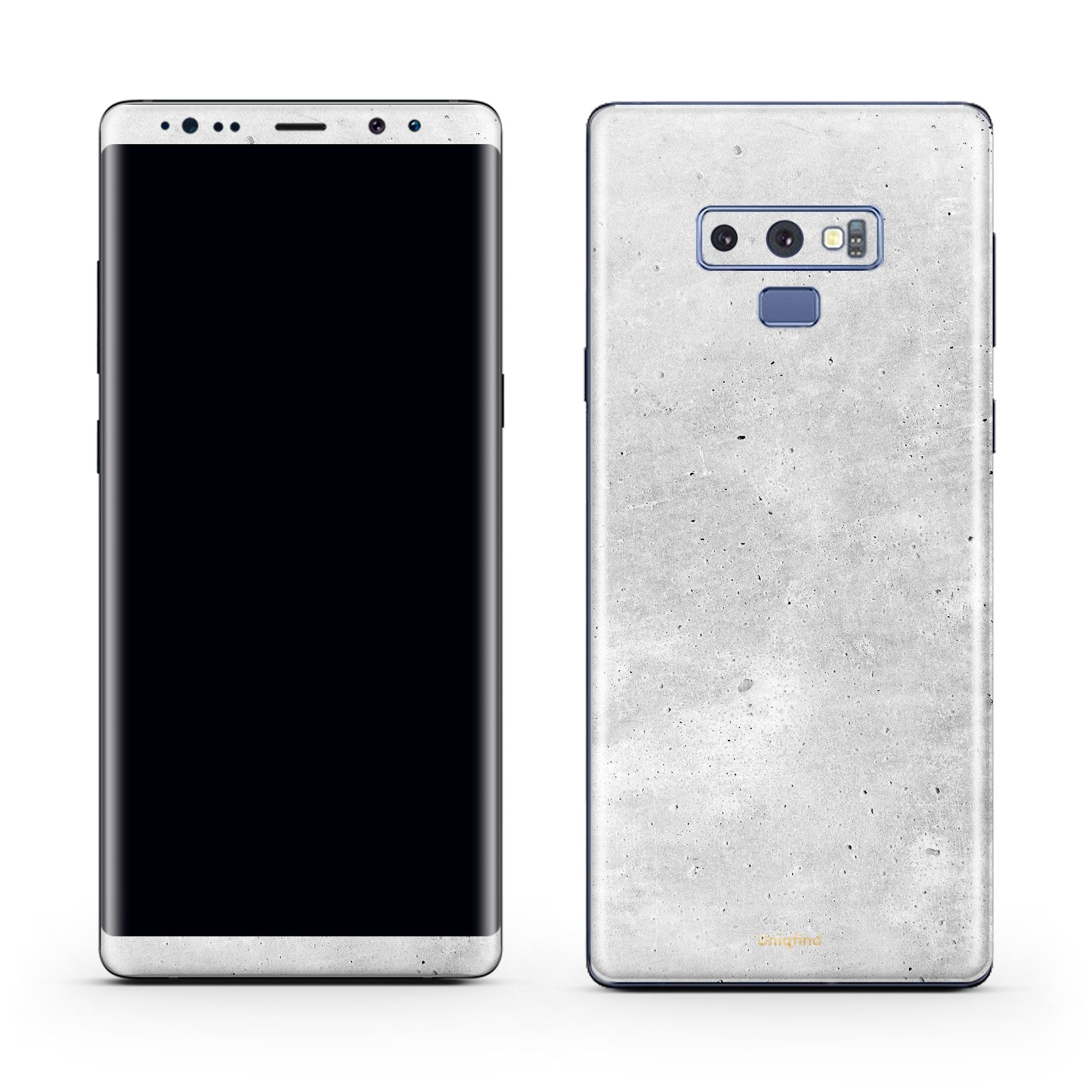 Concrete Galaxy Note 9 Skin + Case