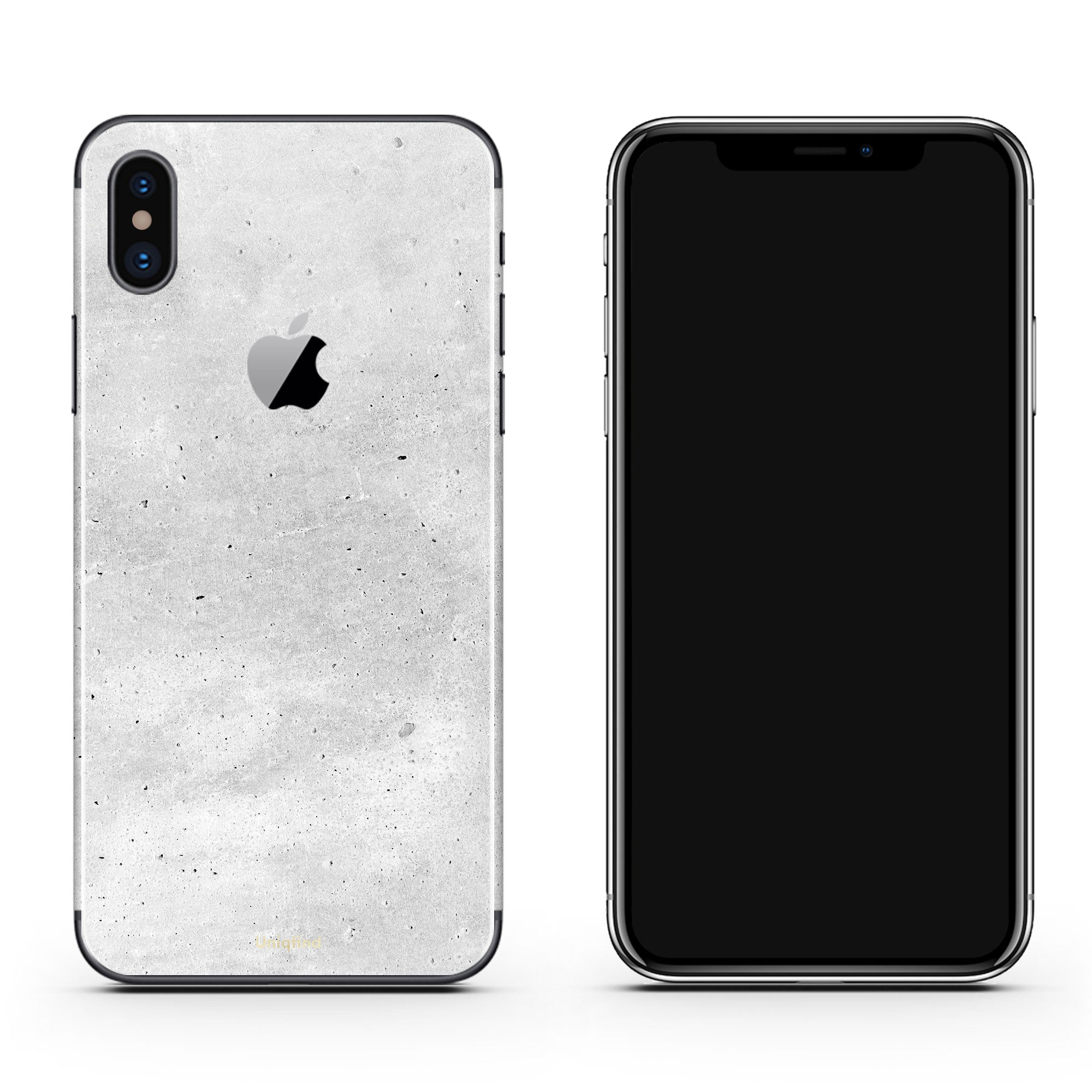 Concrete iPhone Decal