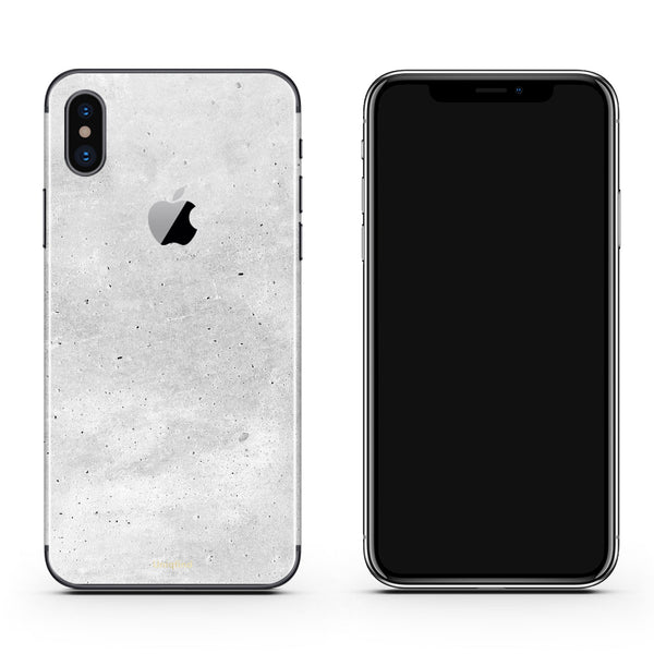 iPhone X skins in concrete