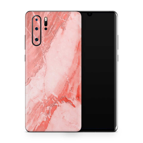 Coral Marble Skin Huawei P30 Pro