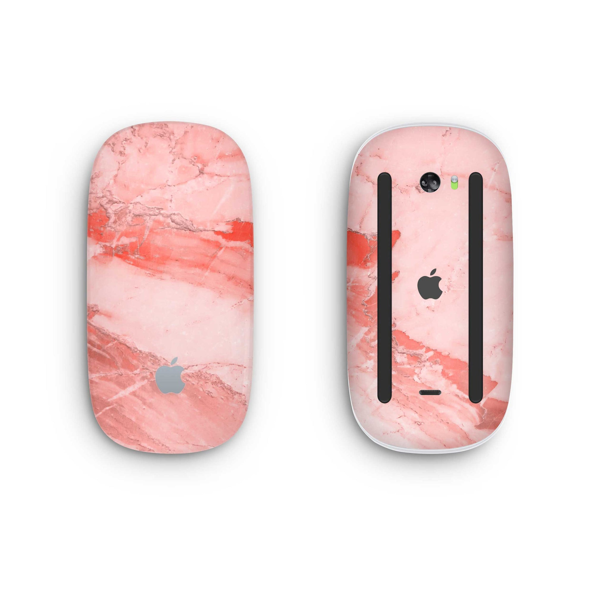 Coral Marble Magic Mouse 2 Skin
