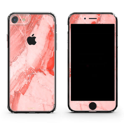 Coral Marble iPhone 6/6S Skin Case
