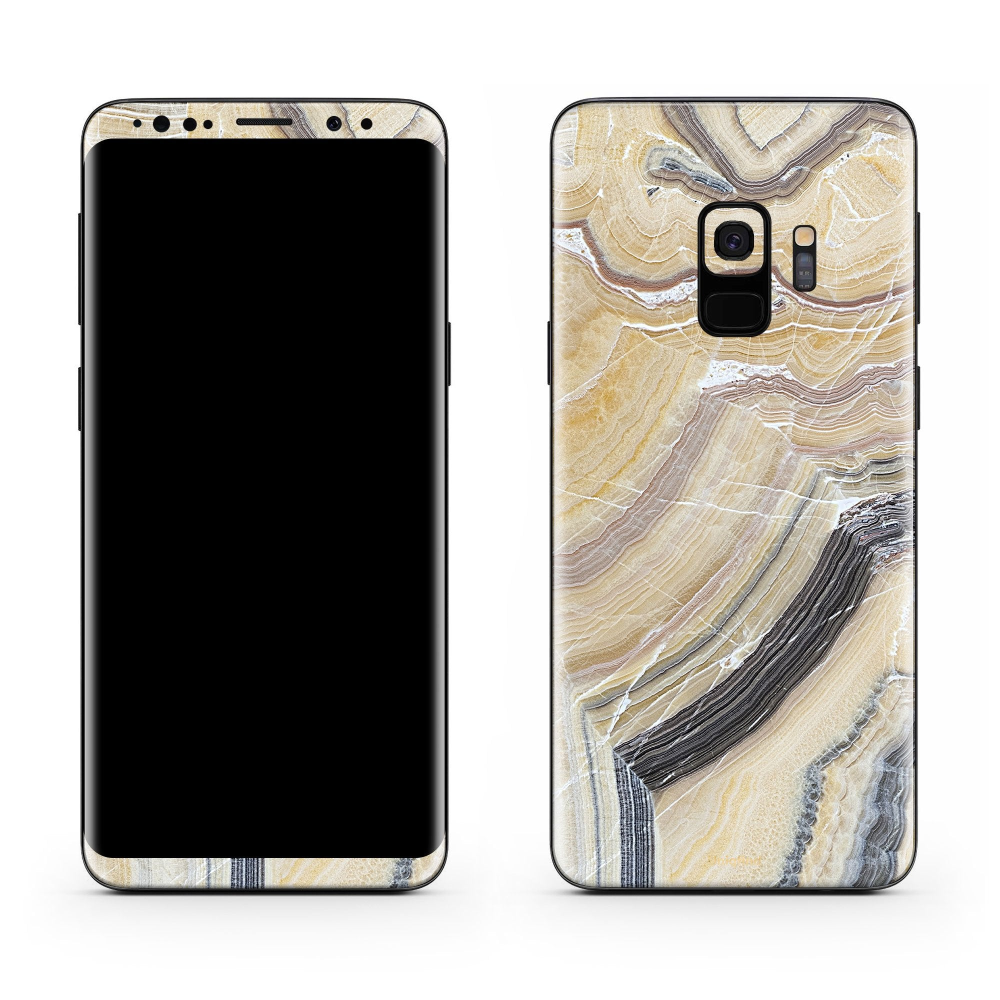 Butter Marble Galaxy S9 Plus Skin + Case