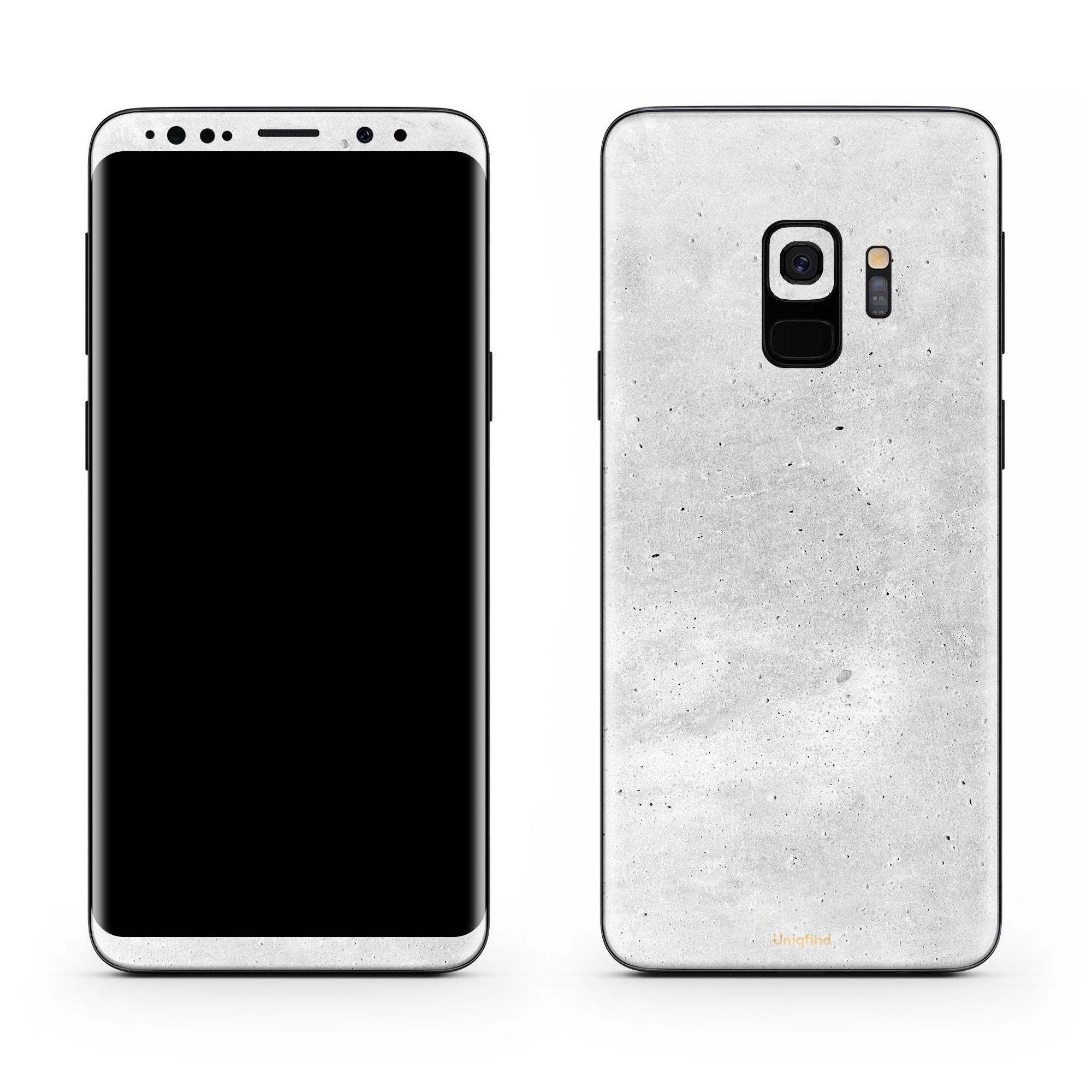 Concrete Galaxy S9 Skin + Case