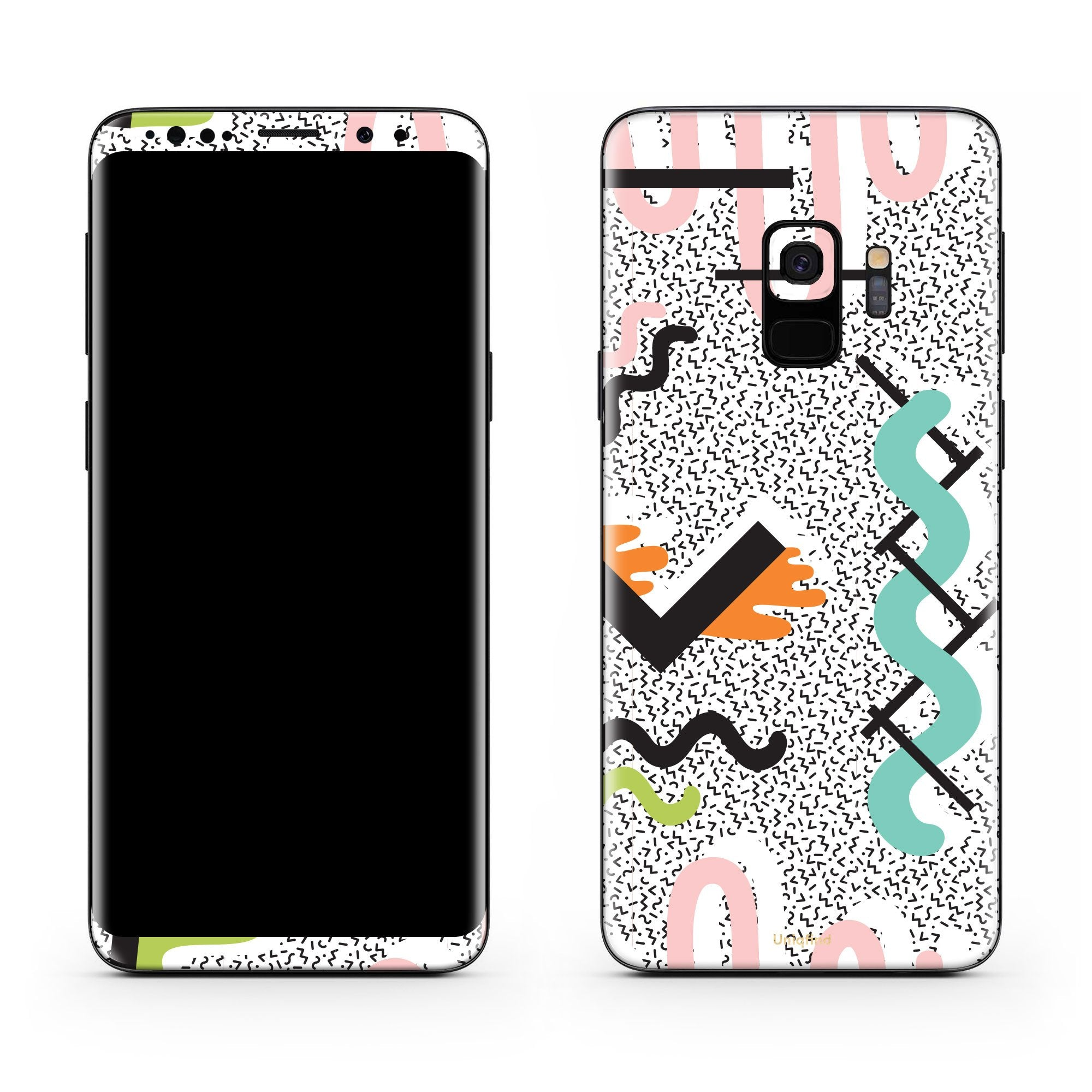 True Memphis Galaxy S9 Plus Skin + Case