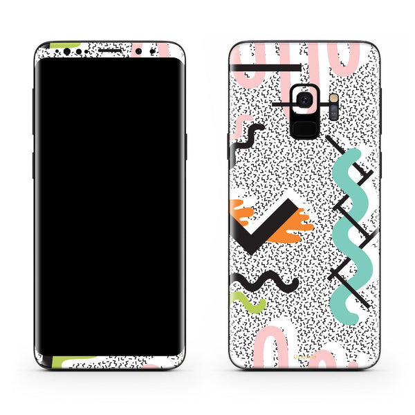 True Memphis Galaxy S9 and S9 Plus Skin