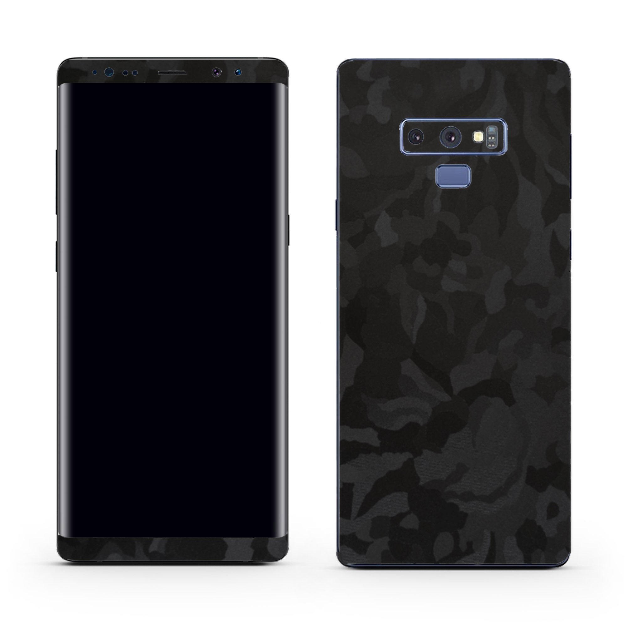 Black Camo Galaxy Note 9 Skin + Case