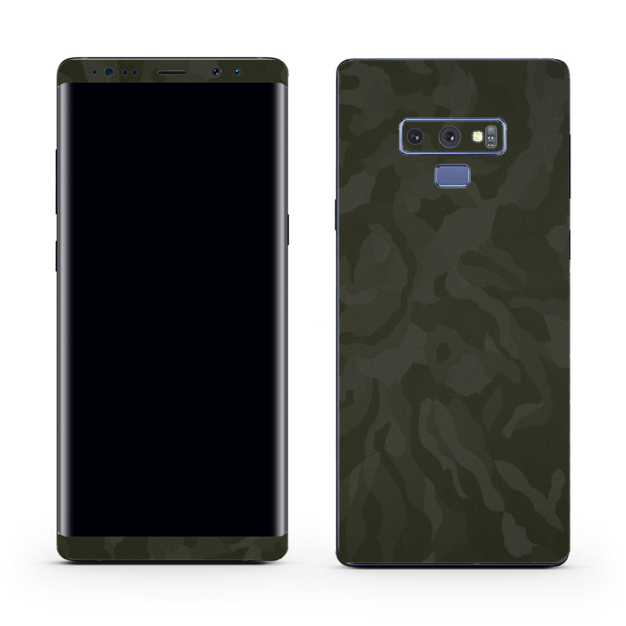 Green Camo Galaxy Note 9 Skin + Case