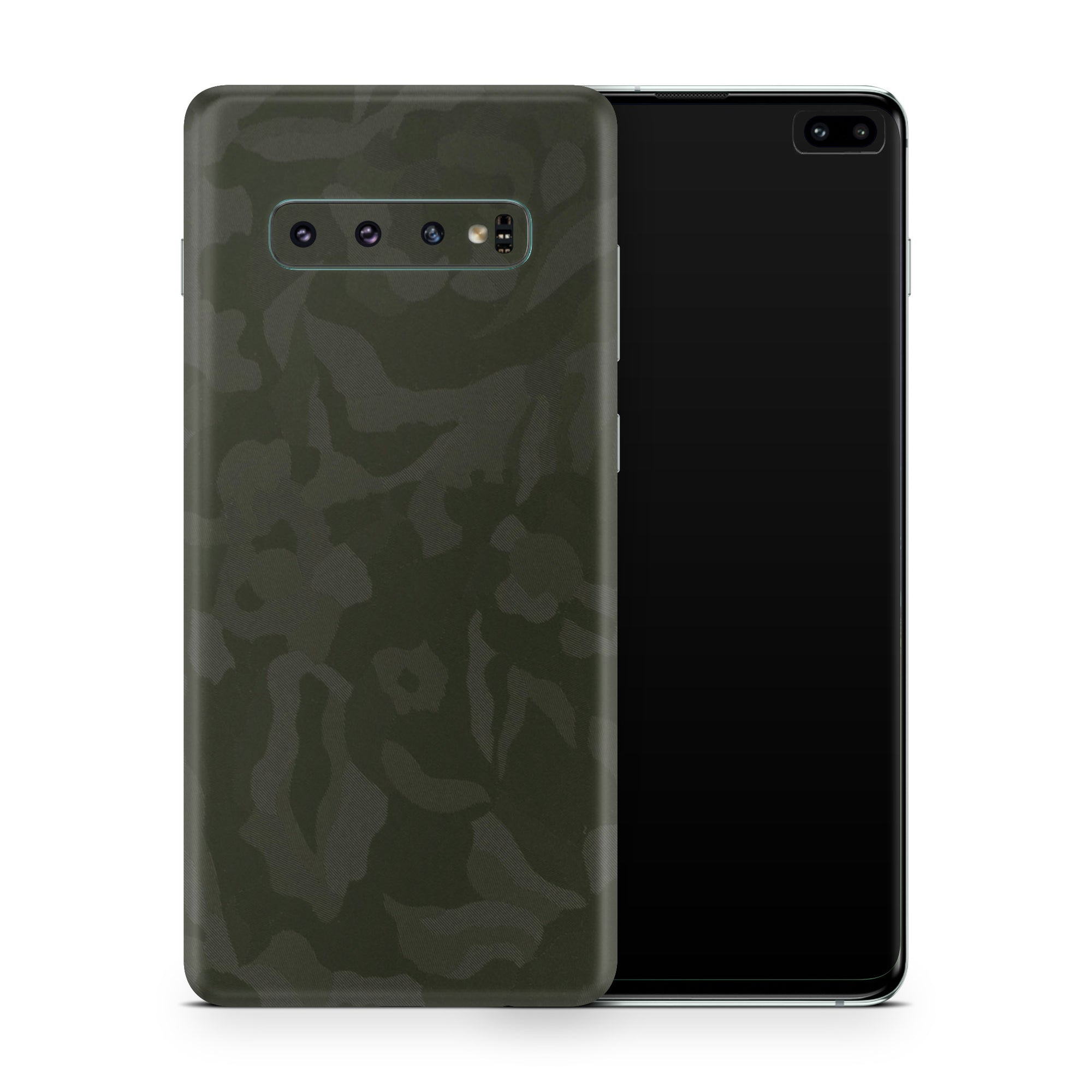 Green Camo Galaxy S10 Skin + Case