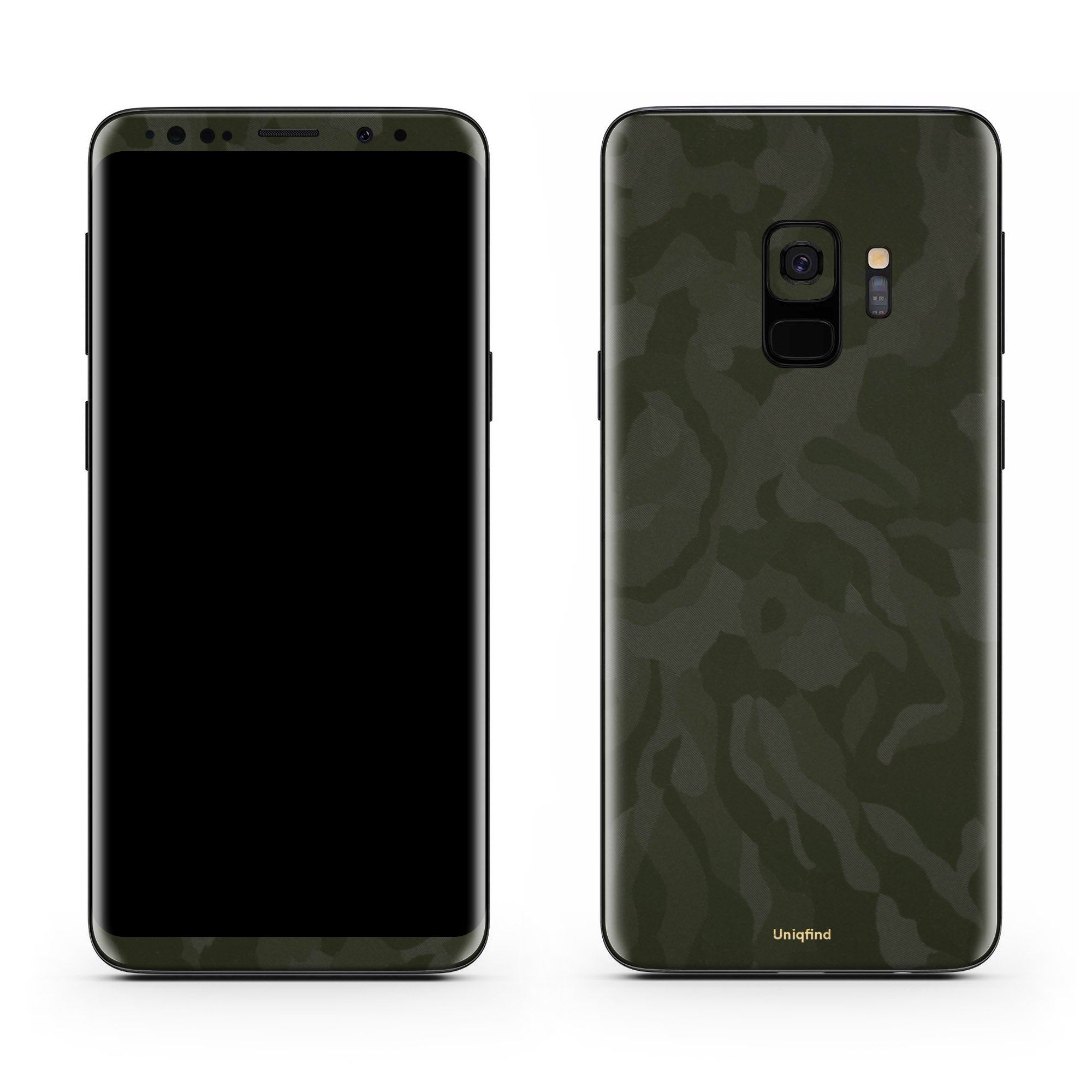 Green Camo Galaxy S9 Skin + Case