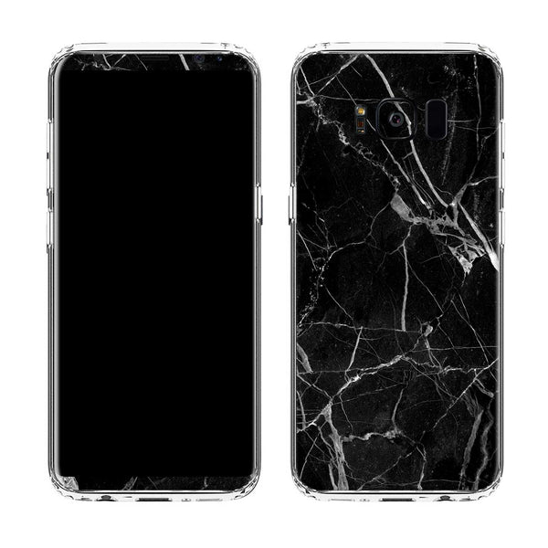 Black Hyper Marble Case for Galaxy S8 and S8 Plus
