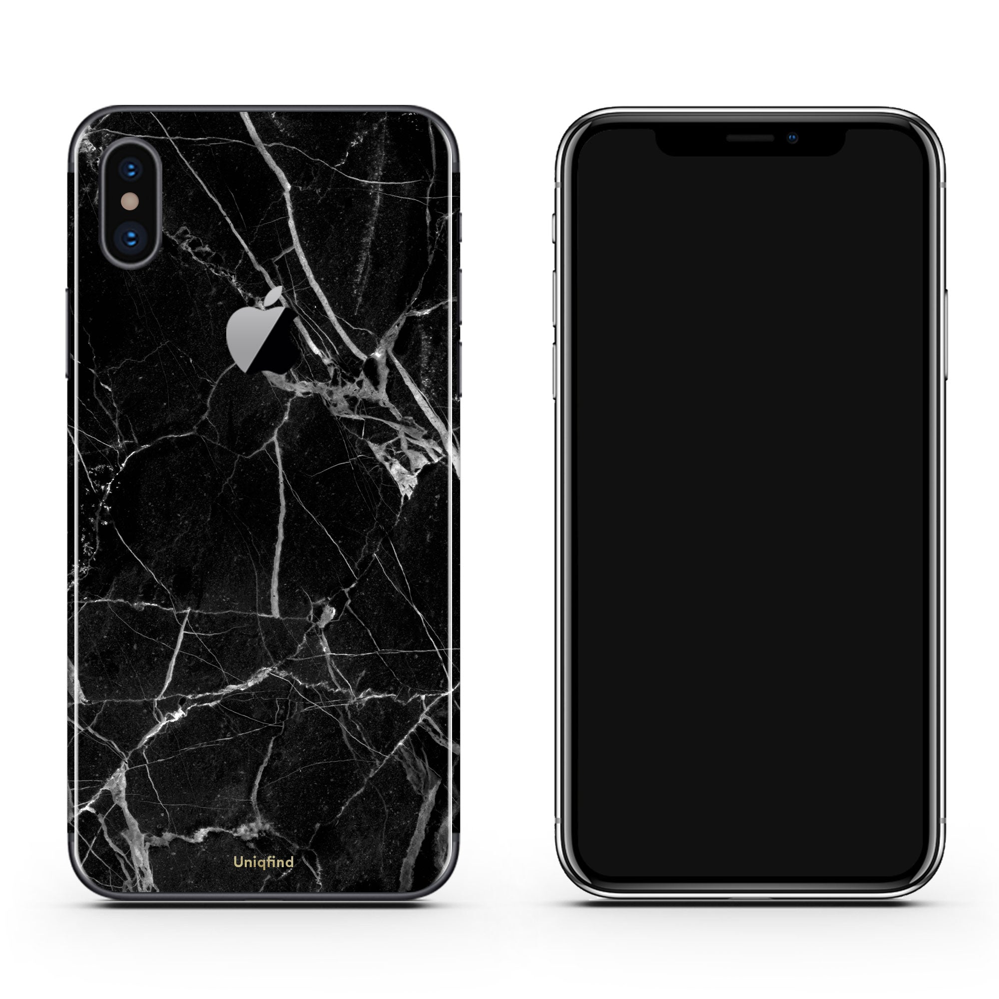 iPhone Black Marble Wrap