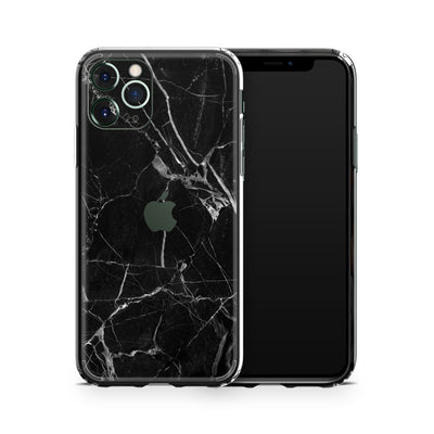 iPhone Case Black Marble